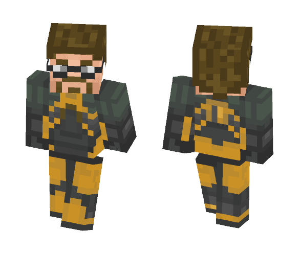 Gordon Freeman (Half-life) - Male Minecraft Skins - image 1