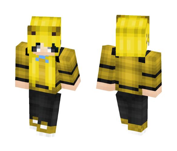 Download Golden Freddy Girl FNAF Minecraft Skin for Free