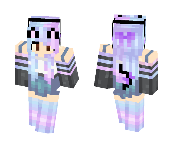 Download Cute Galaxy Girl Minecraft Skin For Free