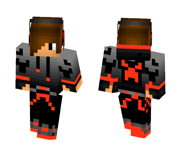 Download Swag Boy Red Minecraft Skin For Free