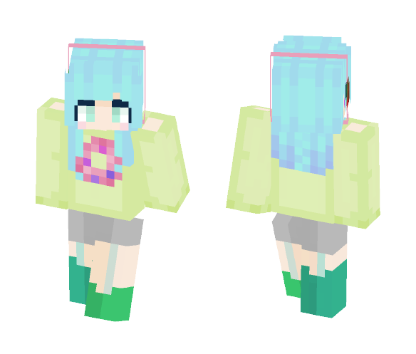 oн donυтѕ! ~ ɑɗɗɪ - Female Minecraft Skins - image 1