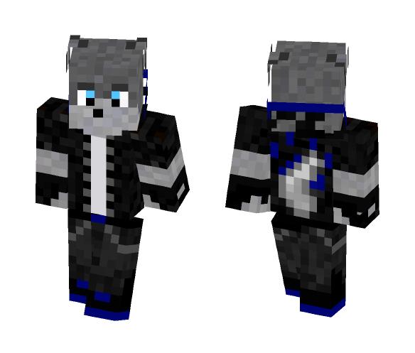 Download Wolf Boy Blue Minecraft Skin For Free Superminecraftskins