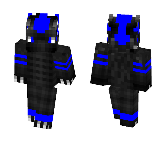 Water Dragon - Male Minecraft Skins - image 1