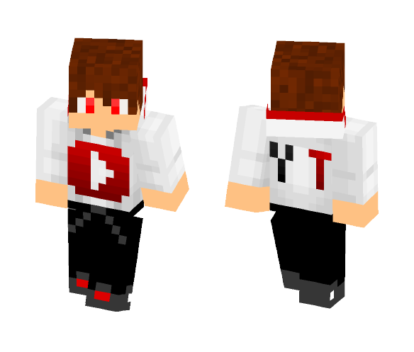 Download Youtube Boy With Hoodie Minecraft Skin For Free Superminecraftskins