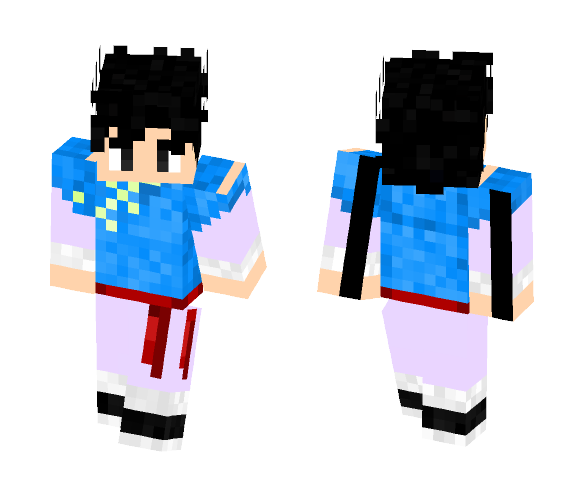 Goten (super) - Male Minecraft Skins - image 1