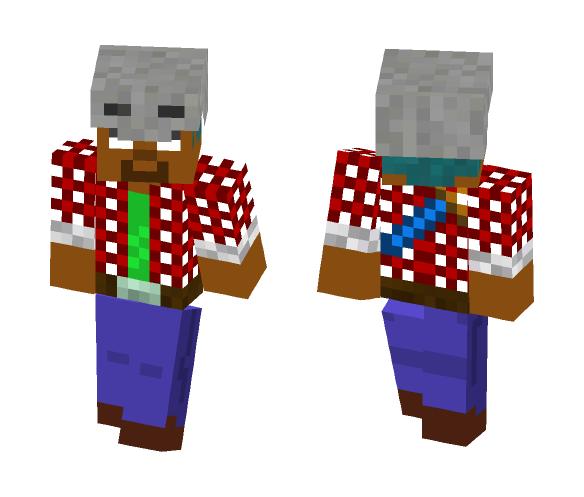 Dad Teaser Herobrine - Herobrine Minecraft Skins - image 1