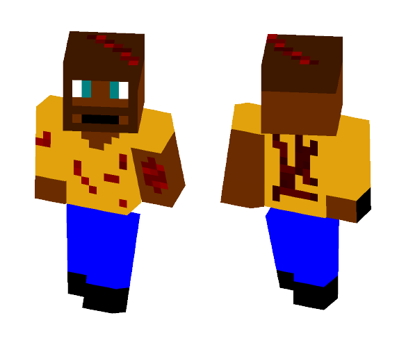 Download Johnny Mc Survival Pants Minecraft Skin for Free