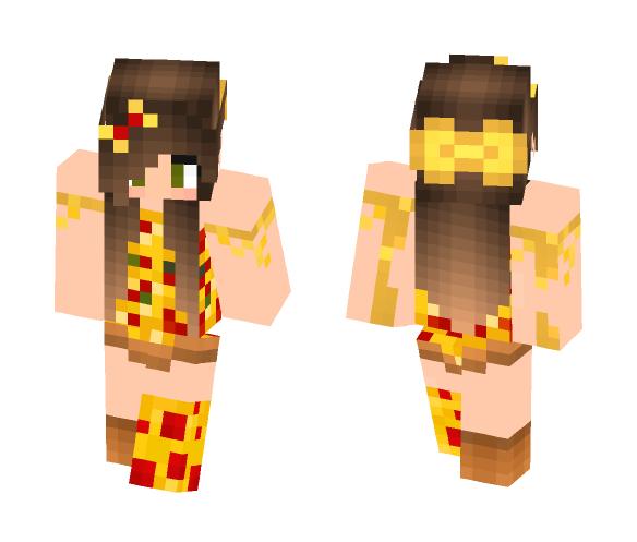 Get Pizza Girl V2 Minecraft Skin For Free Superminecraftskins