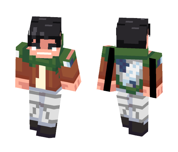 Images Of Minecraft Attack On Titan Skin