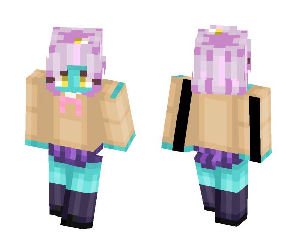 Space patrol Luluco Midori - Female Minecraft Skins - image 1