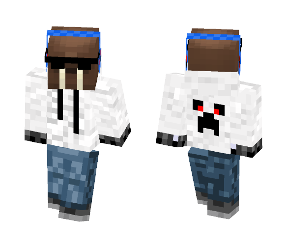 bcab7febac Download Walrus Teen With Sunglasses Minecraft Skin for Free ...