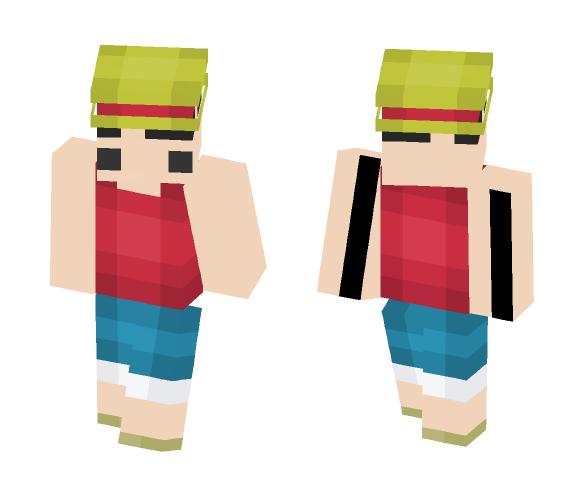 Download 8 Bit Luffy Minecraft Skin For Free Superminecraftskins