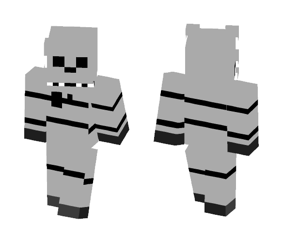 Download Cat Five nights at candy's 2 Minecraft Skin for