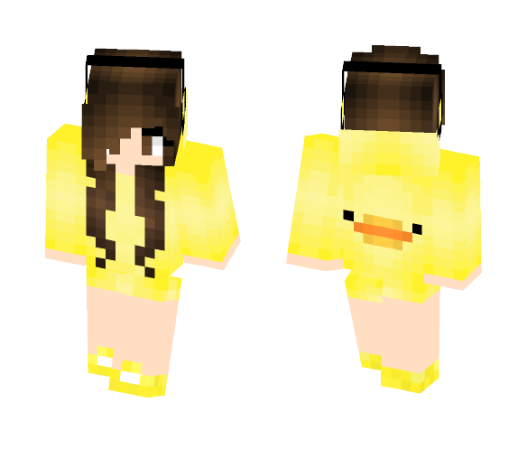 Download Cute Duck Girl Minecraft Skin For Free Superminecraftskins