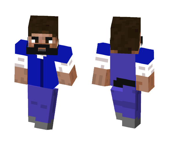 Lee (TWD) - Male Minecraft Skins - image 1
