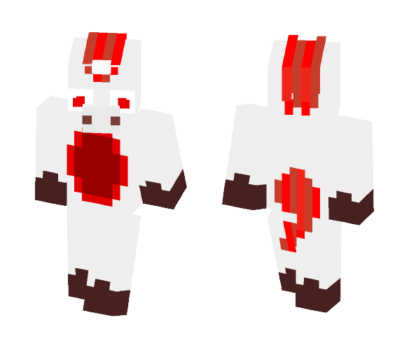 Redstone Unicorn - Male Minecraft Skins - image 1