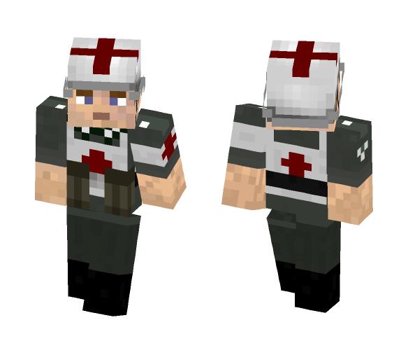 Wehrmacht Sanitäter - Male Minecraft Skins - image 1
