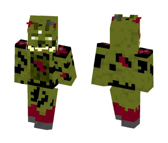 Springtrap - Male Minecraft Skins - image 1