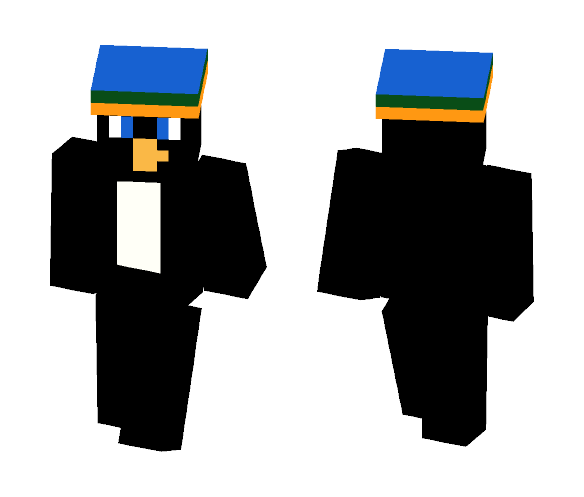 Party Penguin - Male Minecraft Skins - image 1