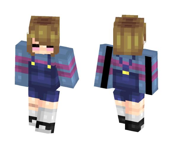 Frisk - Interchangeable Minecraft Skins - image 1