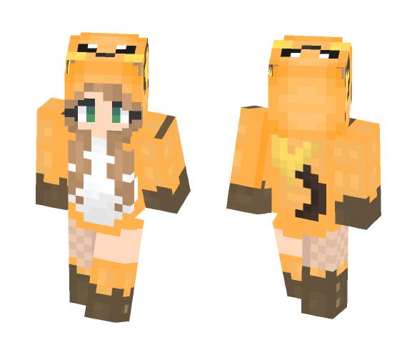 Raichu Girl - Female Minecraft Skins - image 1