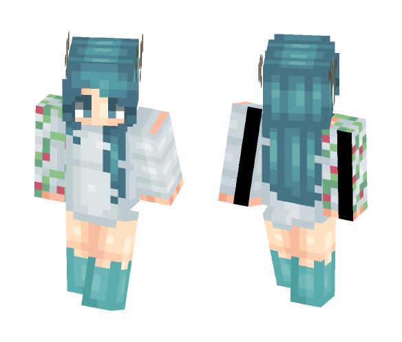 Skin trade w/ MindFul - Female Minecraft Skins - image 1