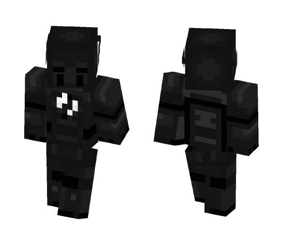 CW The Flash: Zoom - Comics Minecraft Skins - image 1