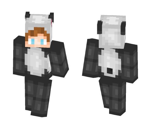 Panda (Male) - Male Minecraft Skins - image 1