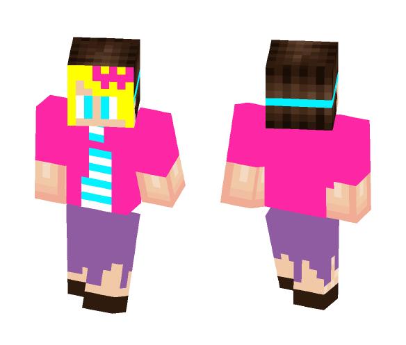 Fake Girl - Male Minecraft Skins - image 1