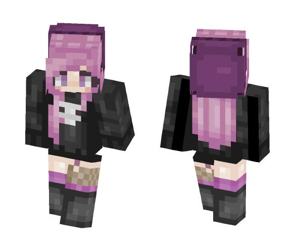 Skin and bones| (Oc) - Female Minecraft Skins - image 1