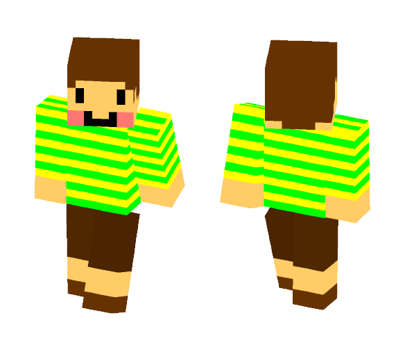 chara - Interchangeable Minecraft Skins - image 1