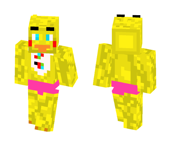 Toy Chica - Female Minecraft Skins - image 1