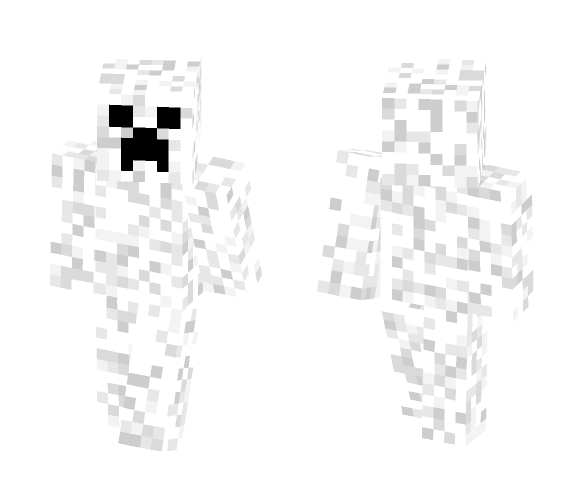 white Creeper - Other Minecraft Skins - image 1