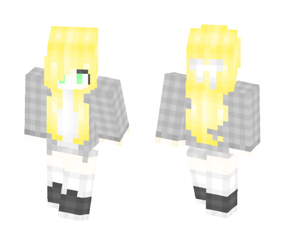 Blonde Girl~ - Female Minecraft Skins - image 1