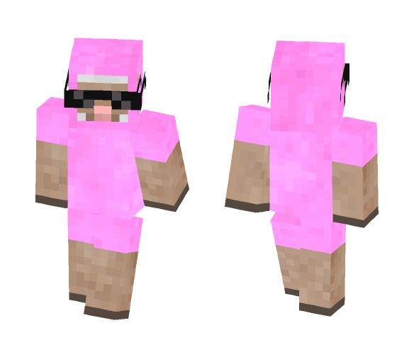 Pink sheep Prangster gangster - Male Minecraft Skins - image 1