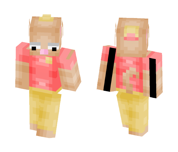 Burgerpants ~ Undertale - Male Minecraft Skins - image 1