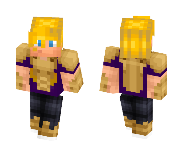 Jason Grace [Armored] - Male Minecraft Skins - image 1