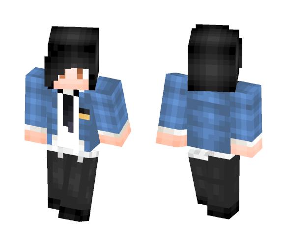 School Boy v(=∩_∩=)フ - Male Minecraft Skins - image 1