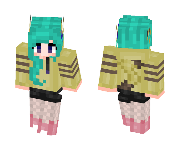 Pikachu Girl X3 - Male Minecraft Skins - image 1