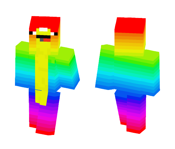 Rainbow Narwal - Other Minecraft Skins - image 1