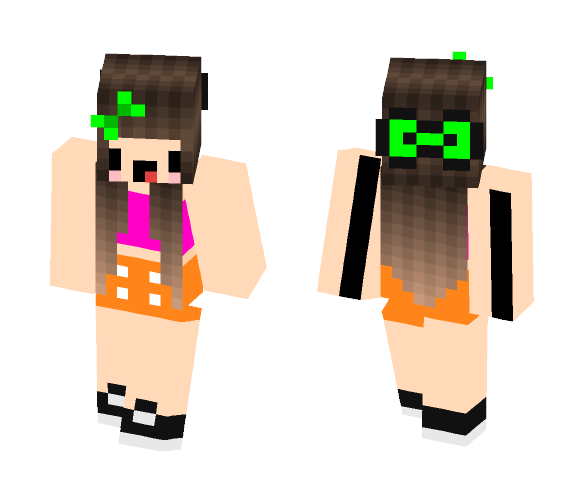 Sweet Dj - Female Minecraft Skins - image 1