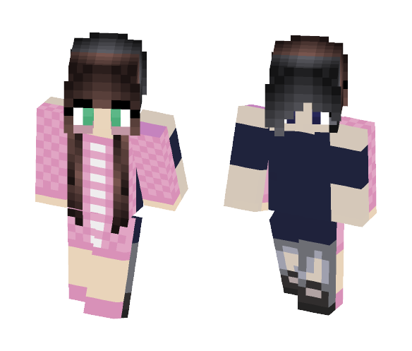 2Sides - Female Minecraft Skins - image 1