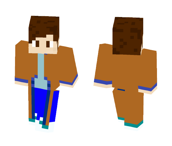 The 10th Doctor | Doctor Who - Male Minecraft Skins - image 1