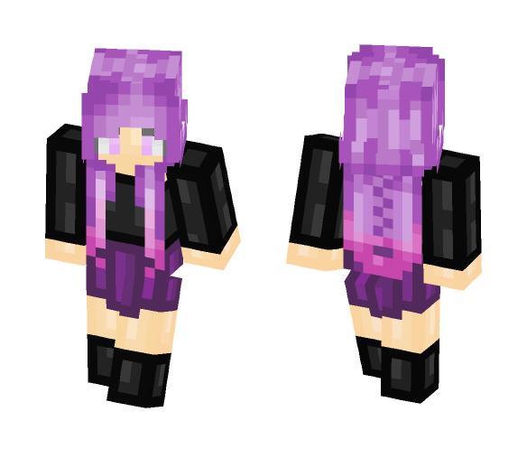 Braids ~Snowy~ - Female Minecraft Skins - image 1
