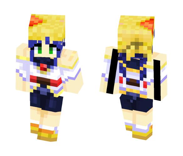 lime marionette J series - Female Minecraft Skins - image 1