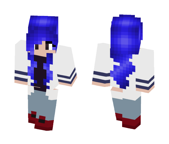 Just a normal girl? - Female Minecraft Skins - image 1