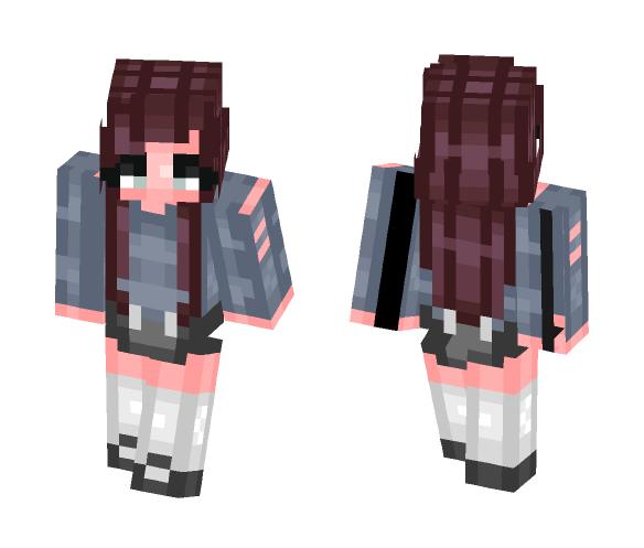 i dyed my hairrr - Female Minecraft Skins - image 1