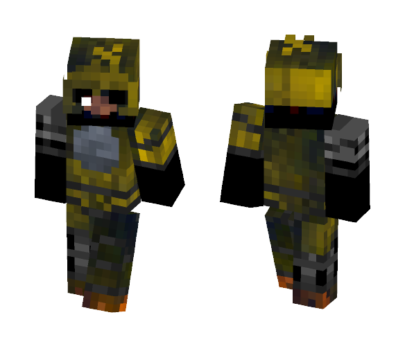 The Joy Of Creation: Ignited Chica - Female Minecraft Skins - image 1