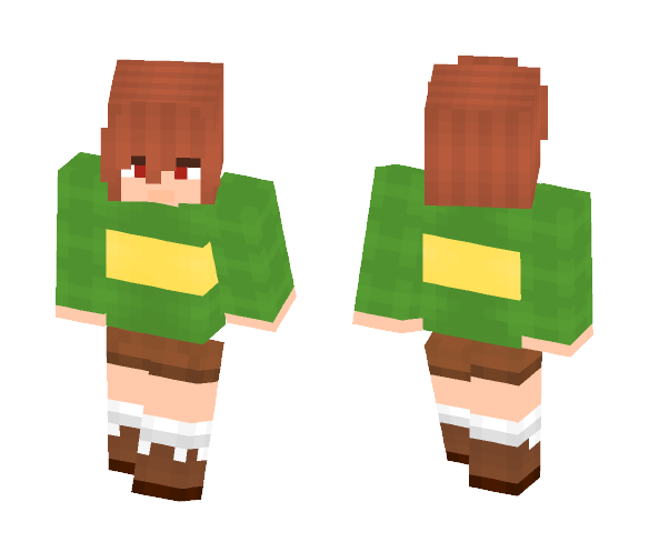 Chara (Undertale) - Interchangeable Minecraft Skins - image 1