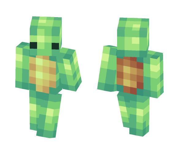 4Bit turtle - Male Minecraft Skins - image 1